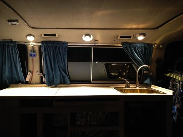 Interior lighting.