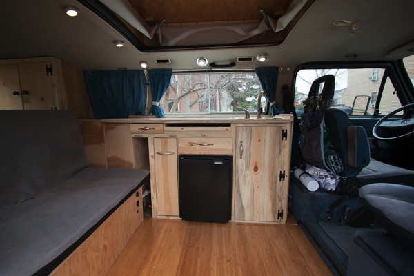 Finished interior.