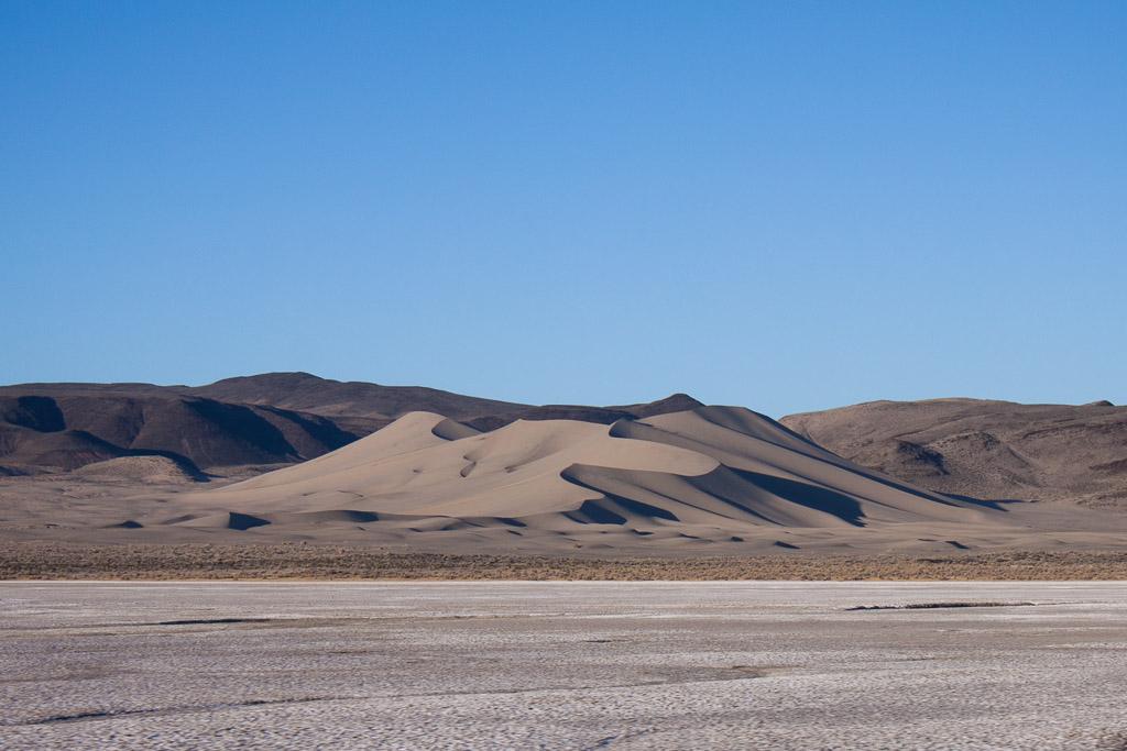 Random sand dune in Nevada.