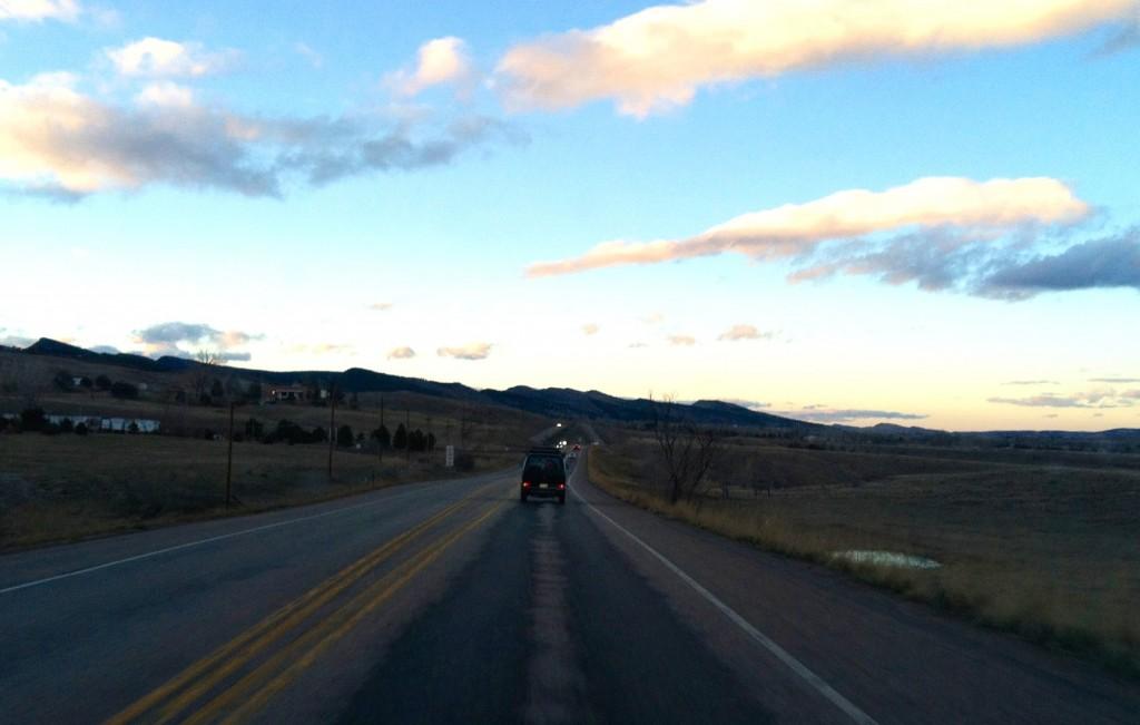 Leaving Boulder