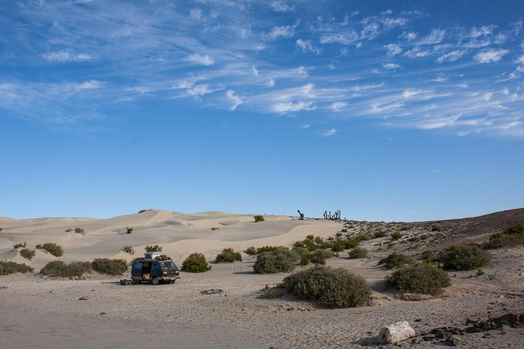 Chimera and the dunes at El Diablo.