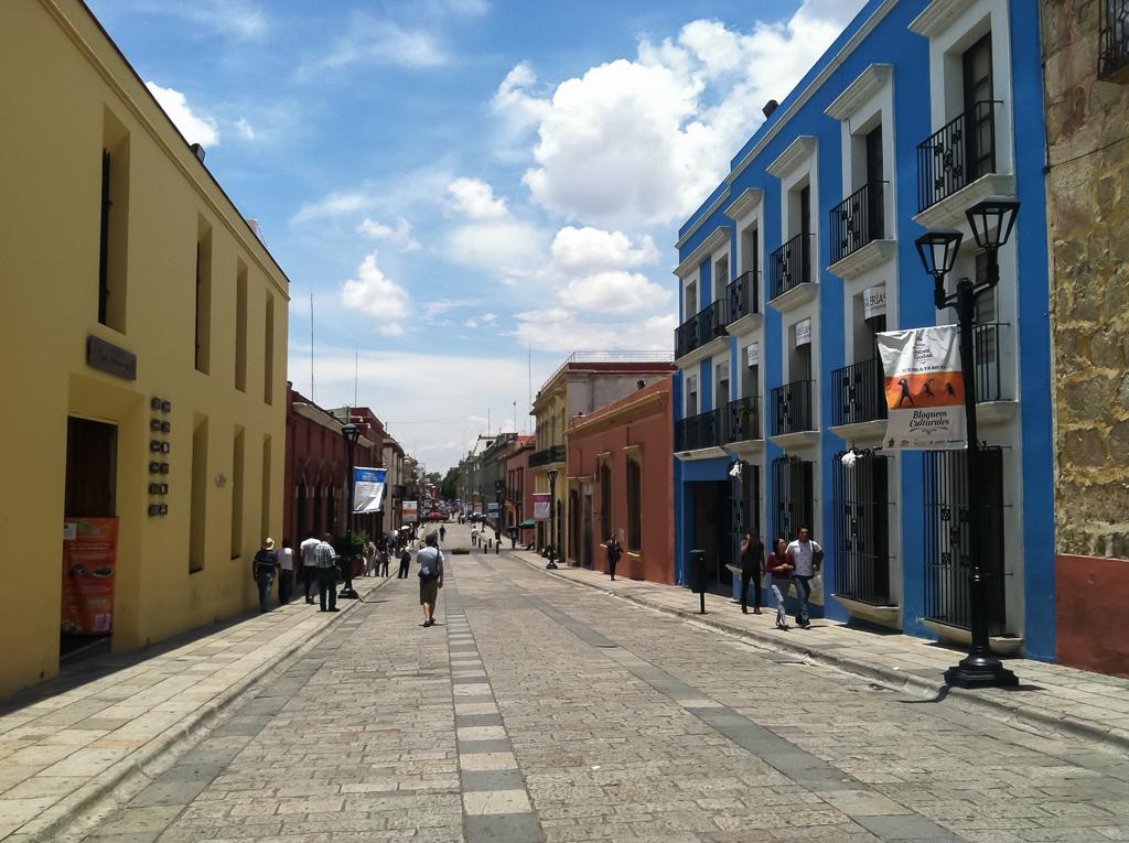 Tim strolling in central Oaxaca.