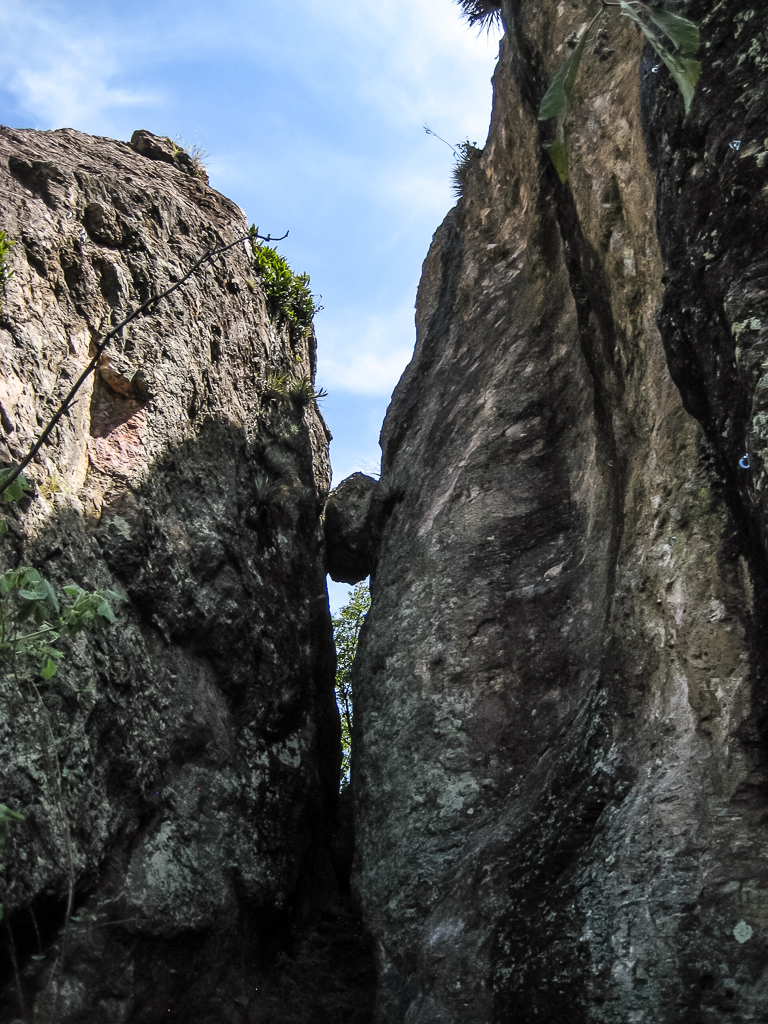 Fun easy slab route to the right of the wedgie rock.