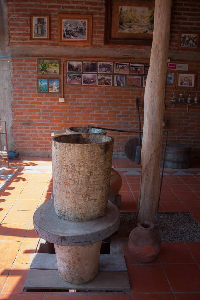 This traditional still was cooled by spring water