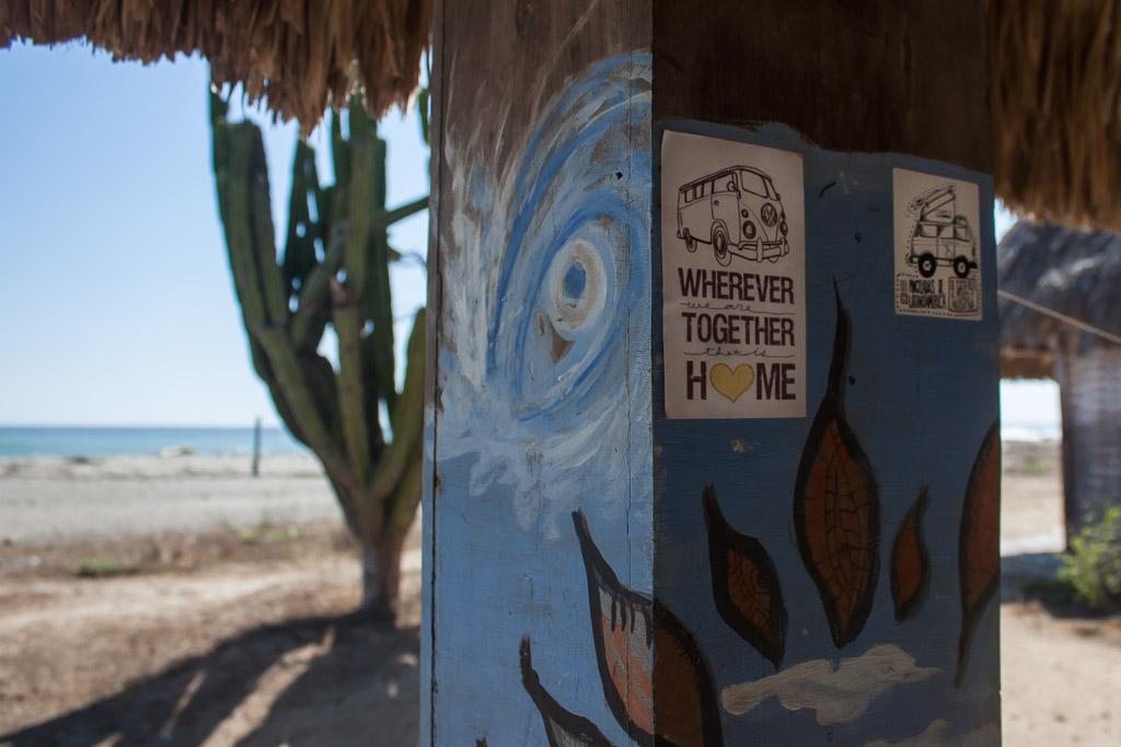 Appropriate stickers at our hammaquero.