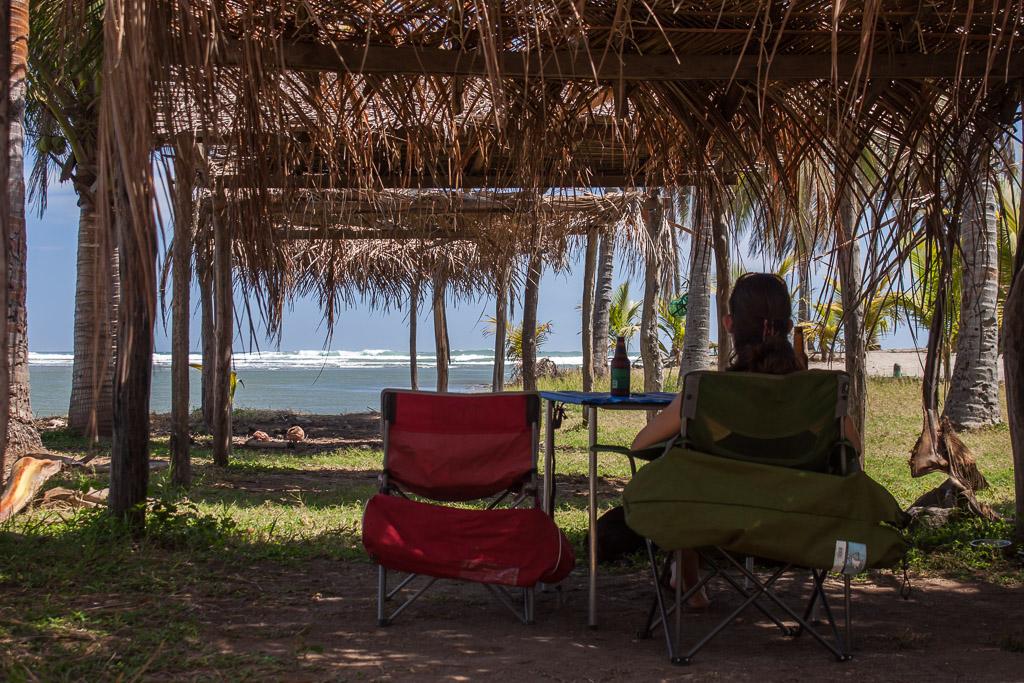 Emily enjoying the view at Rio Nexpa.