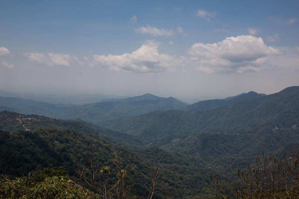 View along the ridge tops.