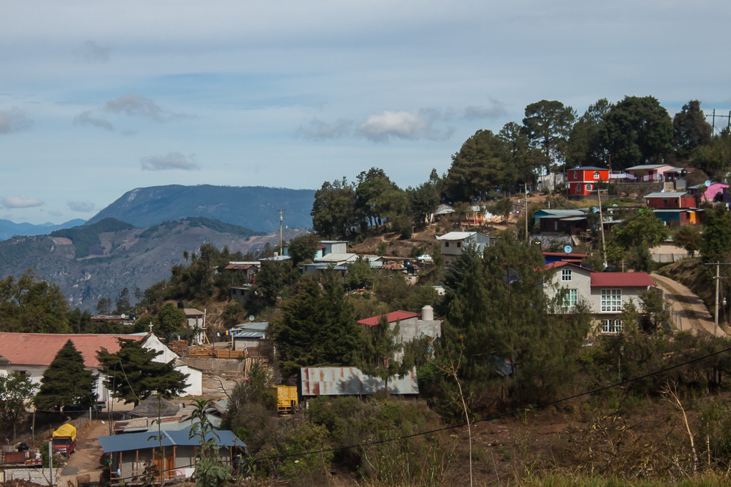 The colorful little town of San Jose del Pacifico.