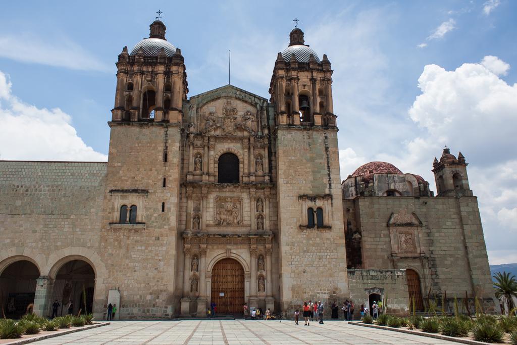 Basilica in Oaxaca.