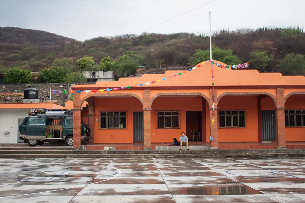 Our camp spot in El Gramal.
