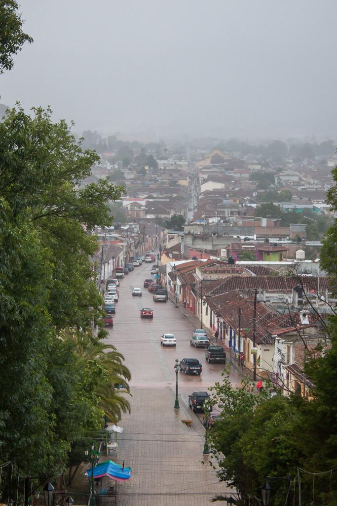View of San Cristóbal.