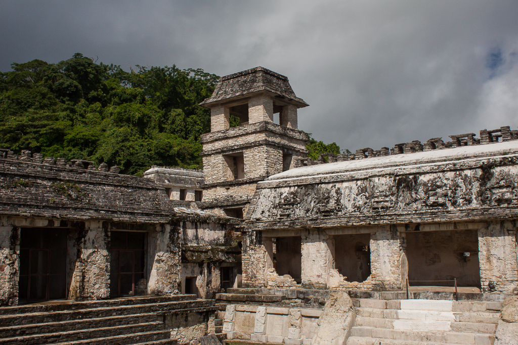 Central Palace, Palenque.