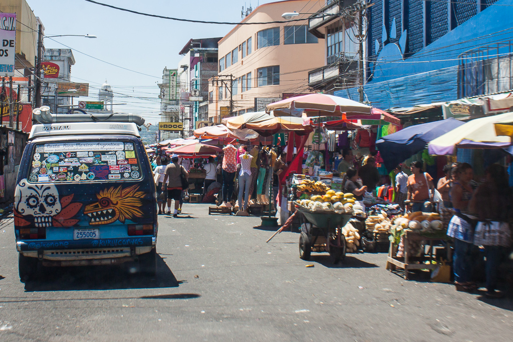 Following Bruno and Laura right through the mercado central.
