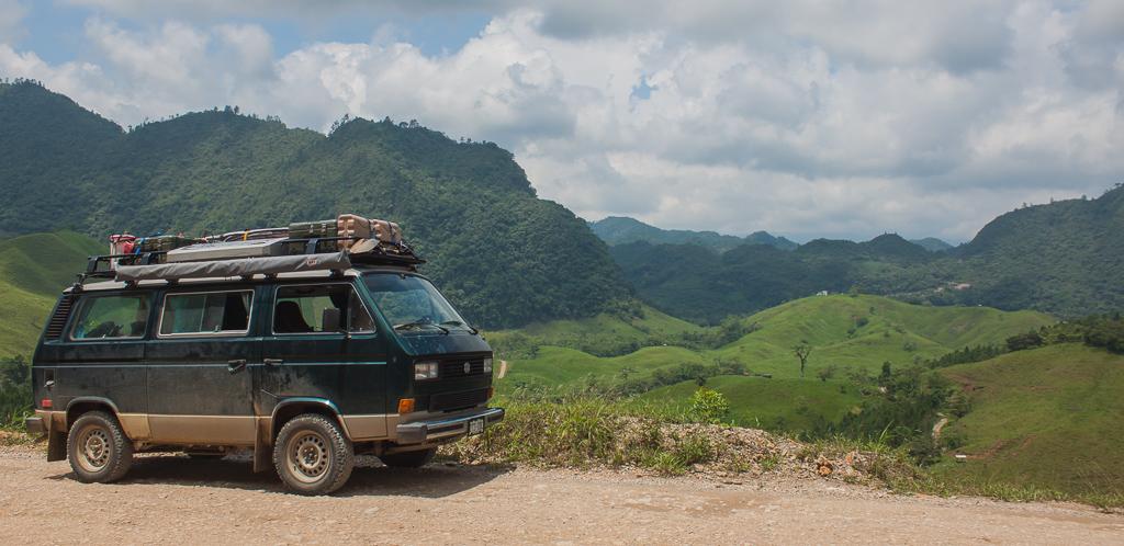 Chimera enjoying the Guatemalan landscape.