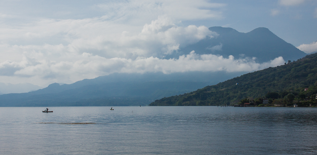 Lago Atitlán.