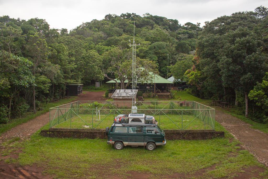The obligatory camping photo in Parque Nacional El Imposible.