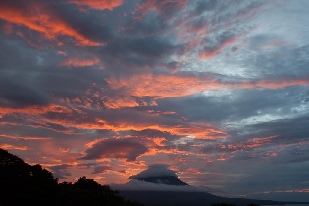 Volcán Concepción at sunset.