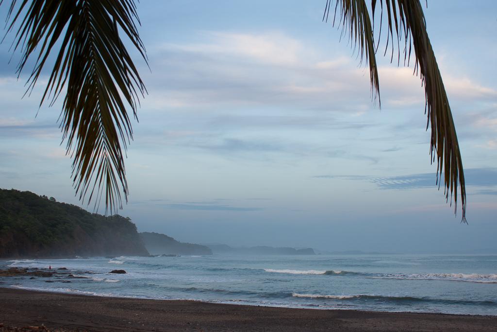 Playa Islita at dusk.