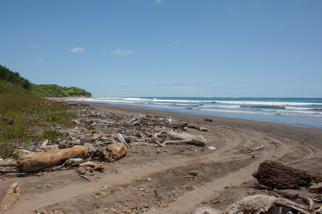 """...continuation of the """"road"""" along the beach. We were amazed that our GPS took us this way."""