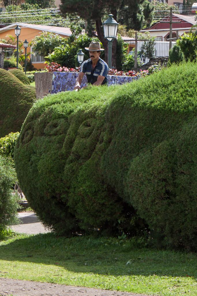 The master gardener/topiary artist.