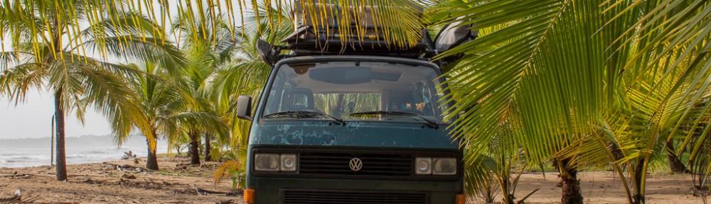 More amazing free camping, Punta Uva.