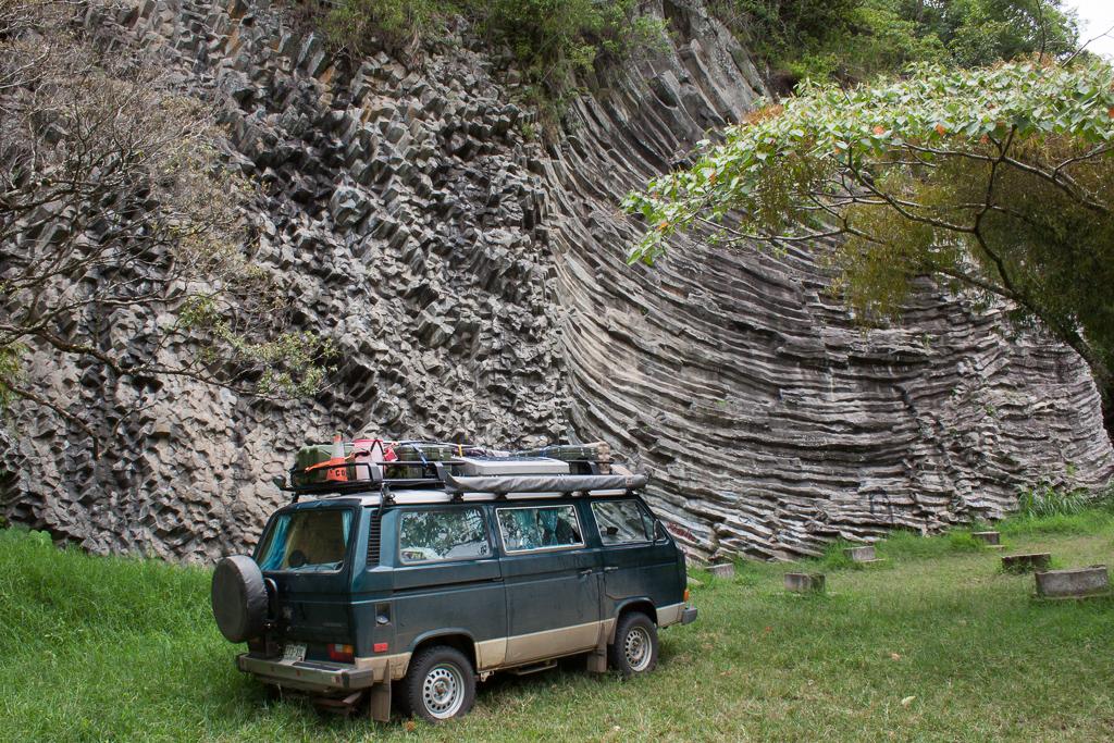 Climbing wall near Boquete.