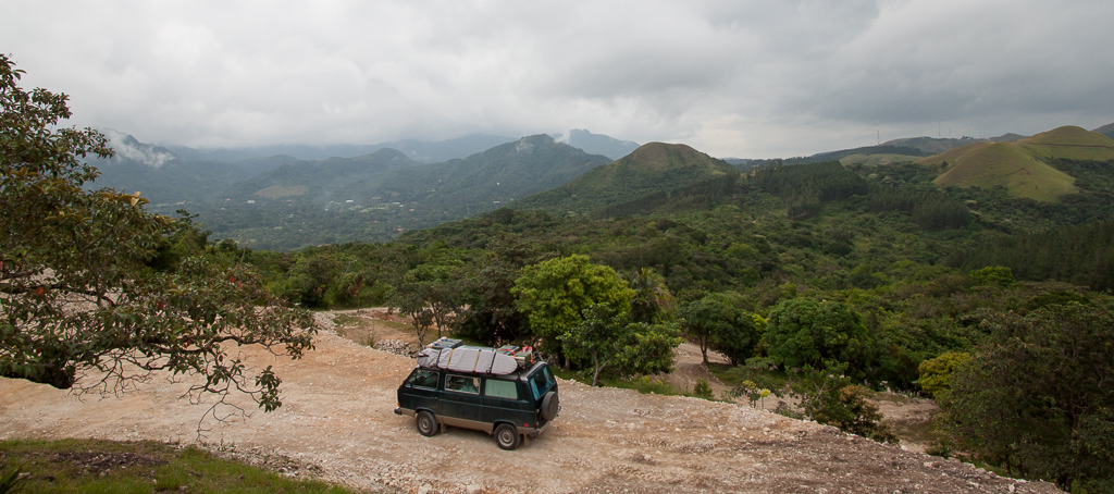 Boondocking above El Valle.