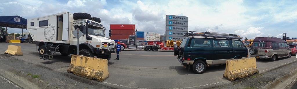 At the Colon Port.