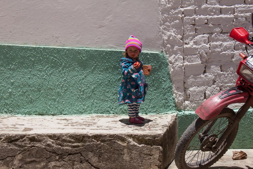 Niña in El Cocuy.