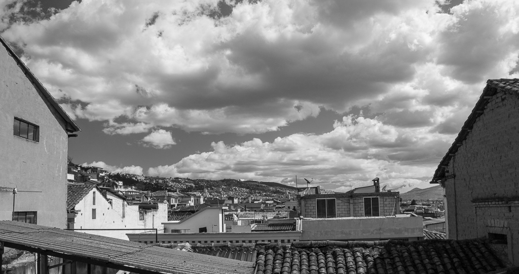 Rooftop Quito.