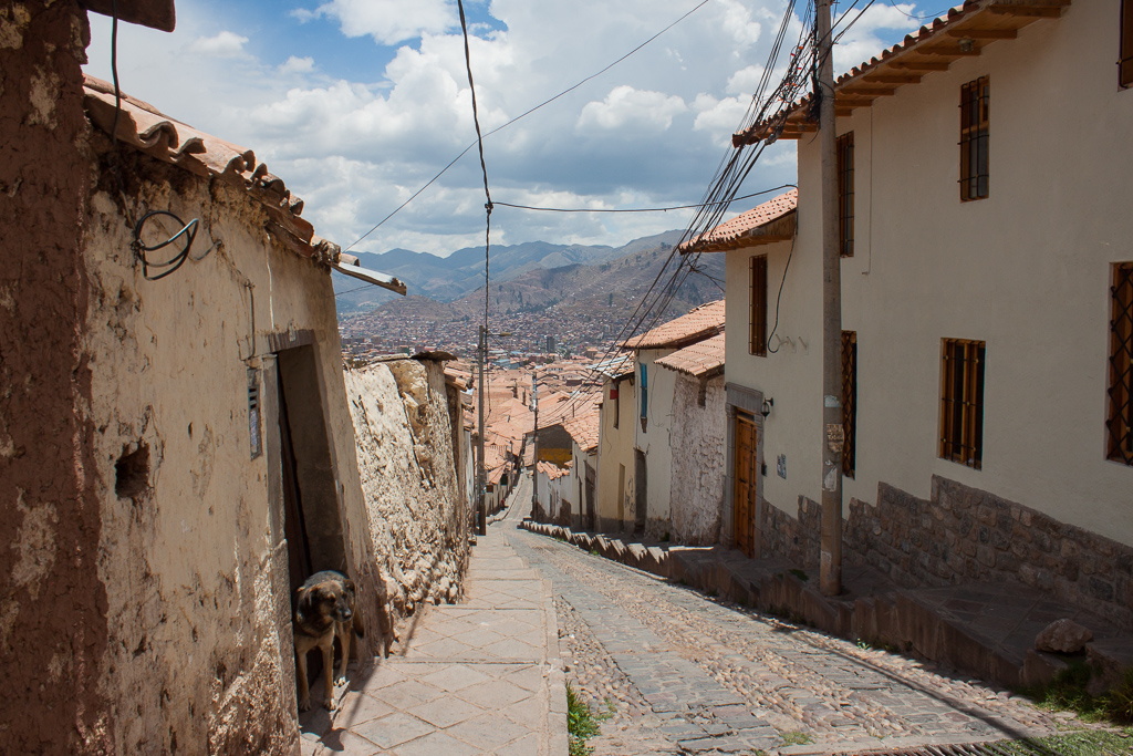 Streets of Cusco.