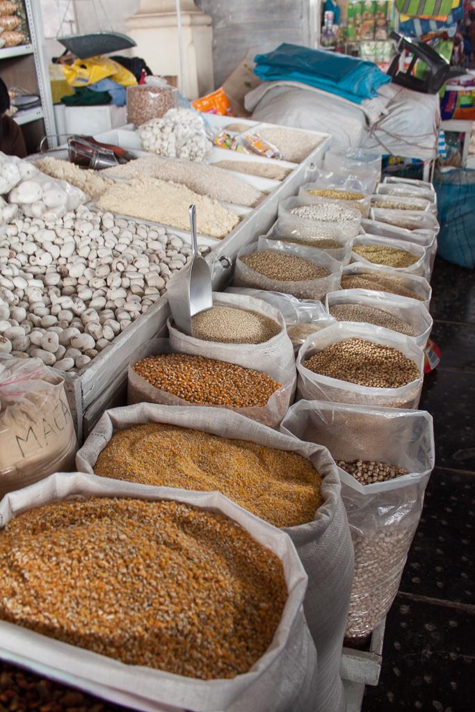 Cusco market.