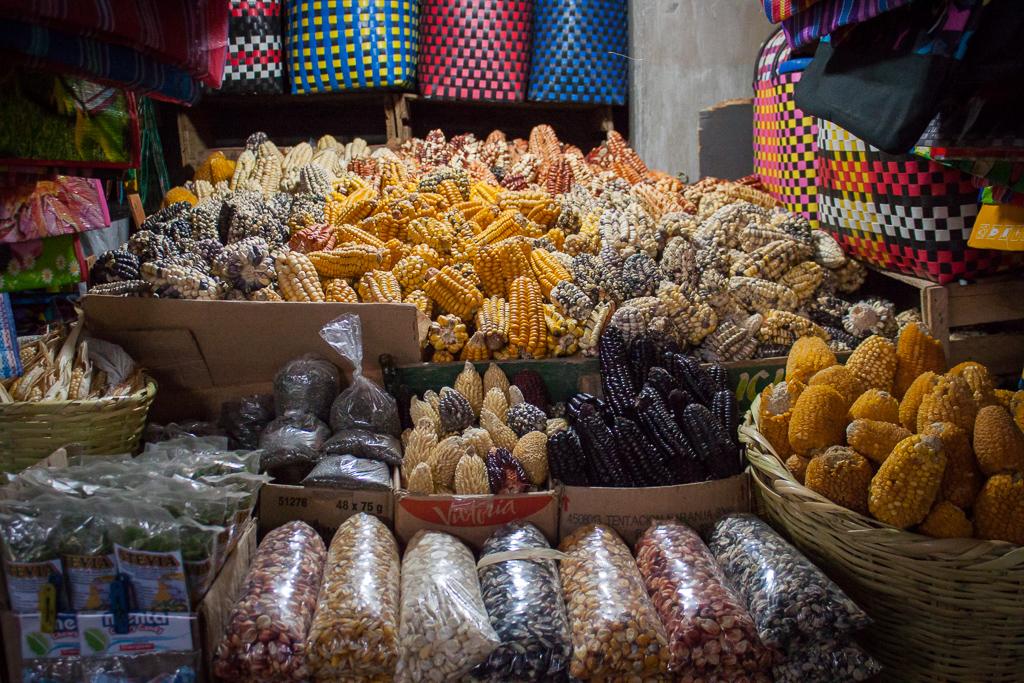 Colorful corn.