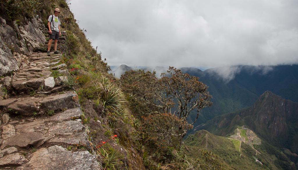 Vista from the side of Montaña Machu Picchu.