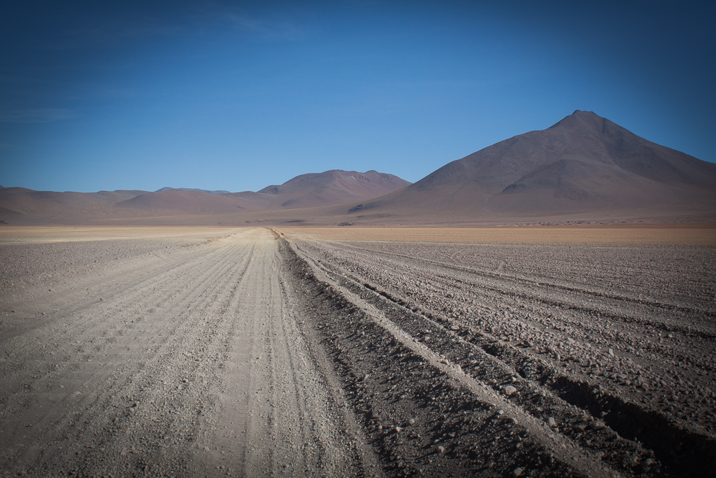An example of the many miles of sandy washboards that we drove on the Southwest Circuit.