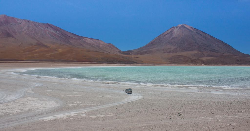 Chimera next to Laguna Azul.
