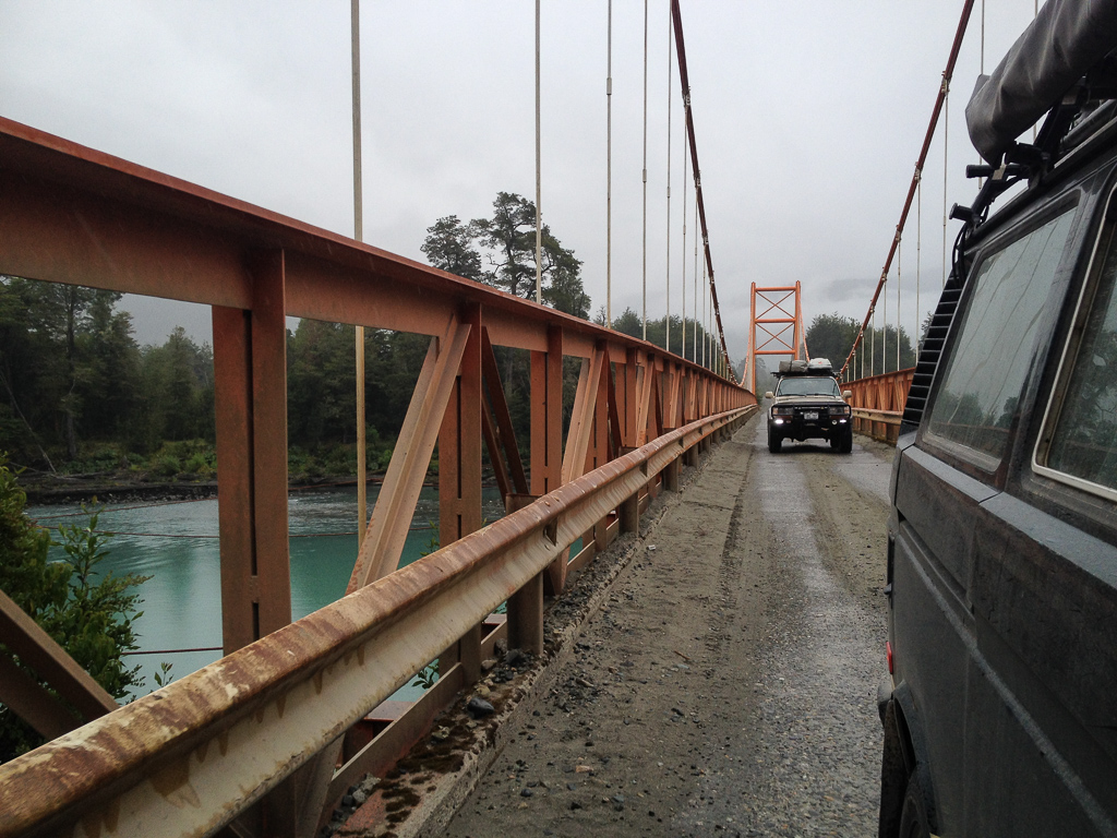On the Carretera Austral.
