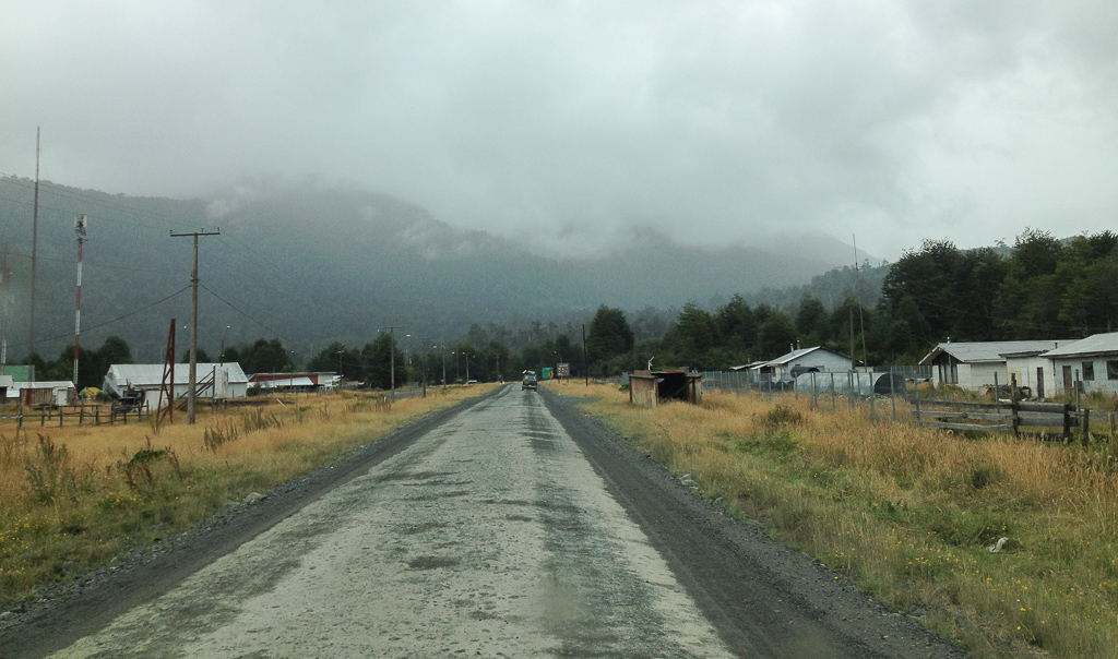 Heading down the Carretera Austral. Photo credit: Corey Axtell.