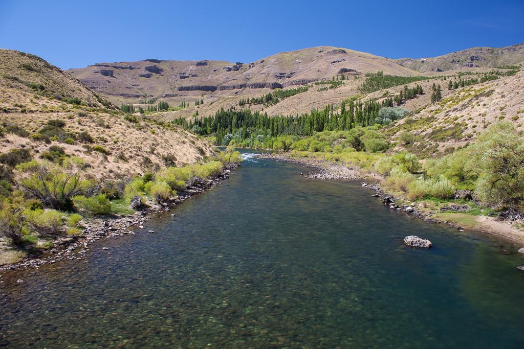 The lovely Río Aluminé.