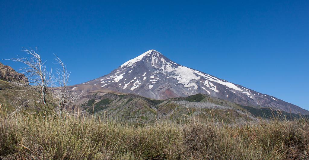 Volcan Lanín.