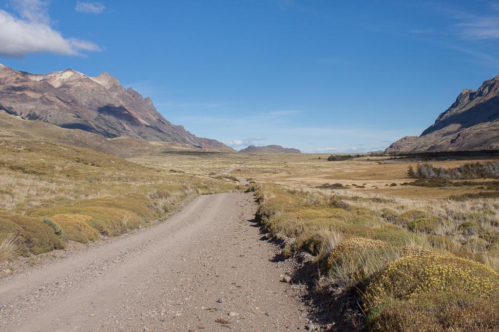 Leaving Parque Patagonia.