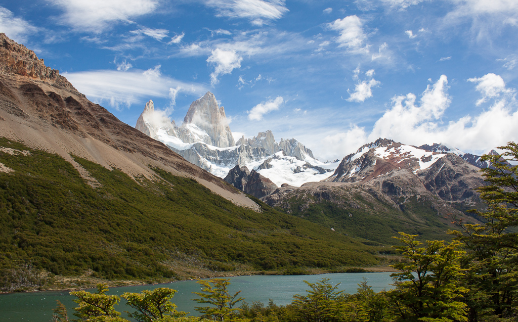 The Fitz Roy Towers.