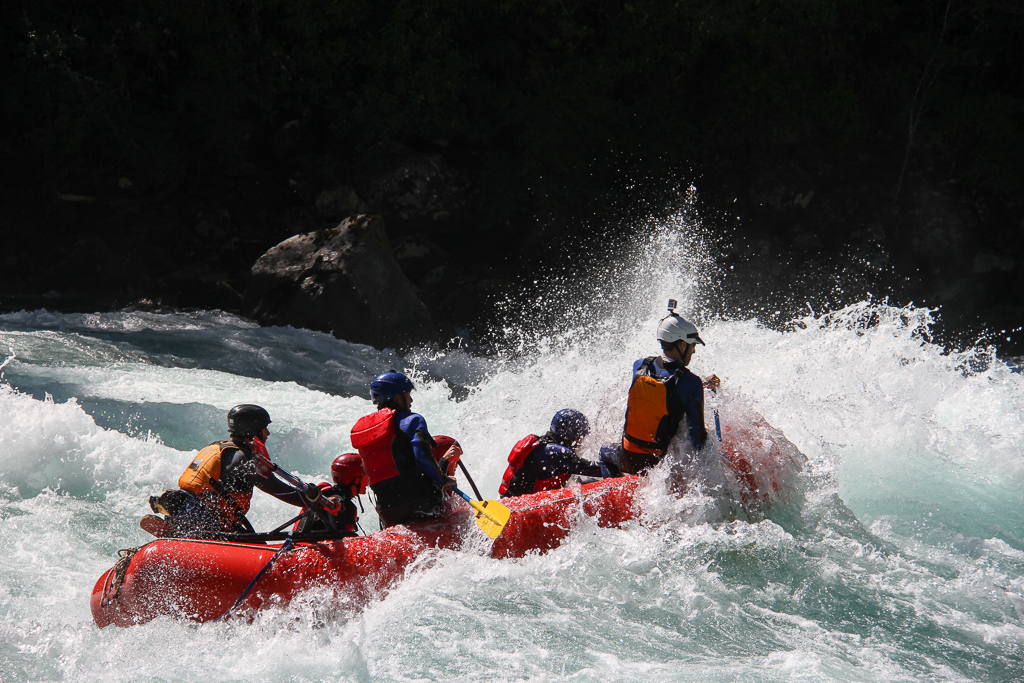 Rafting the Futaleufú.
