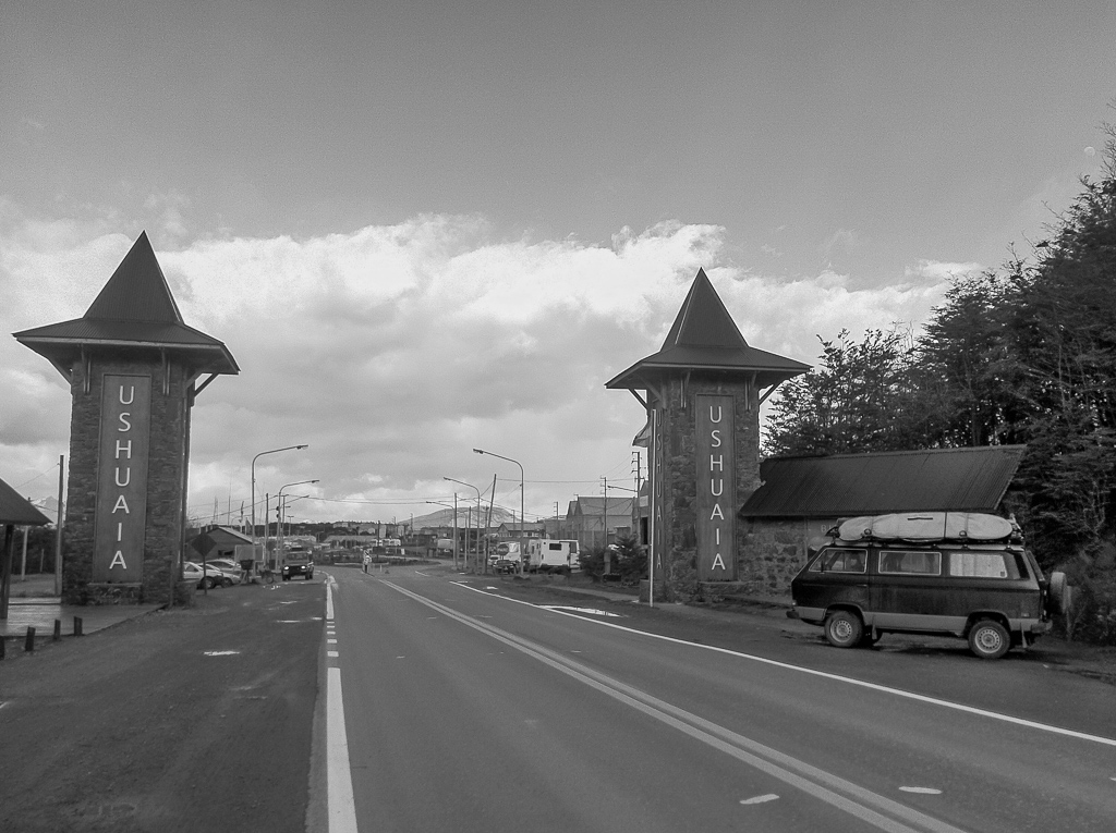 The glorious gates of Ushuaia