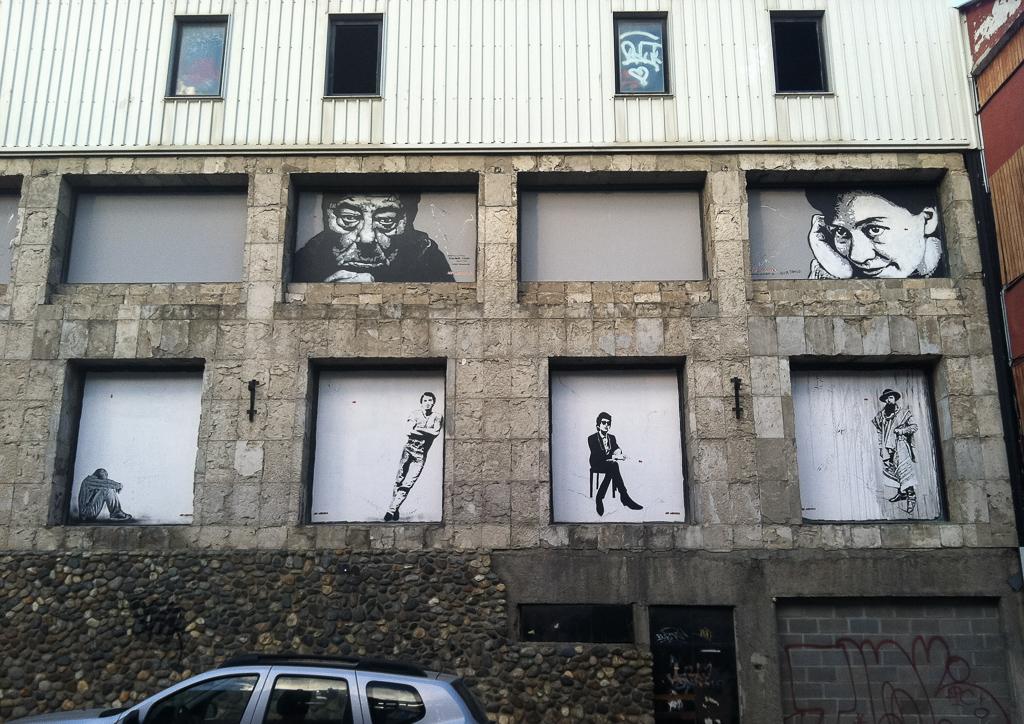 Ushuaia street art.