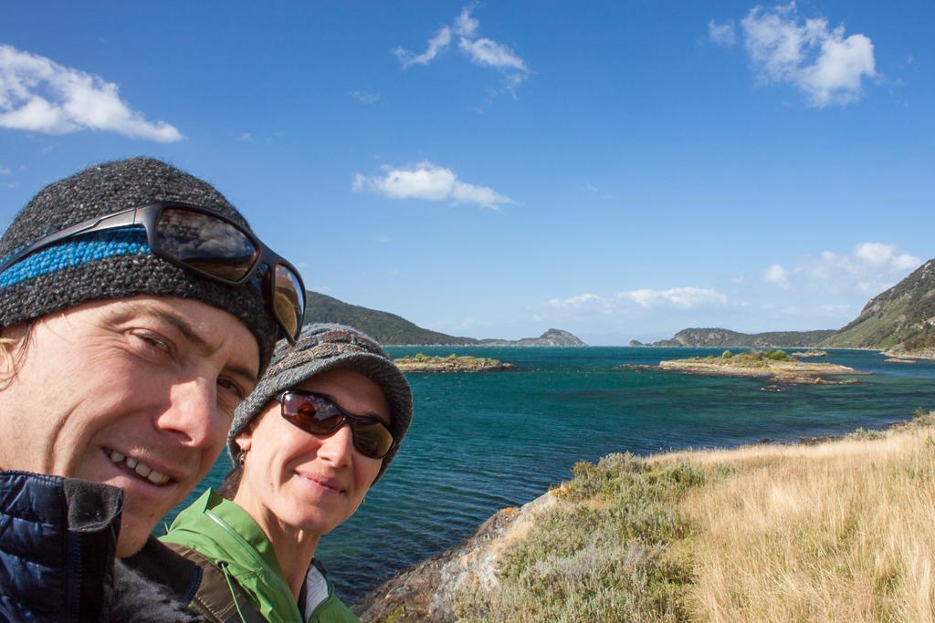 In Parque Nacional Tierra Del Fuego at another end of the road.