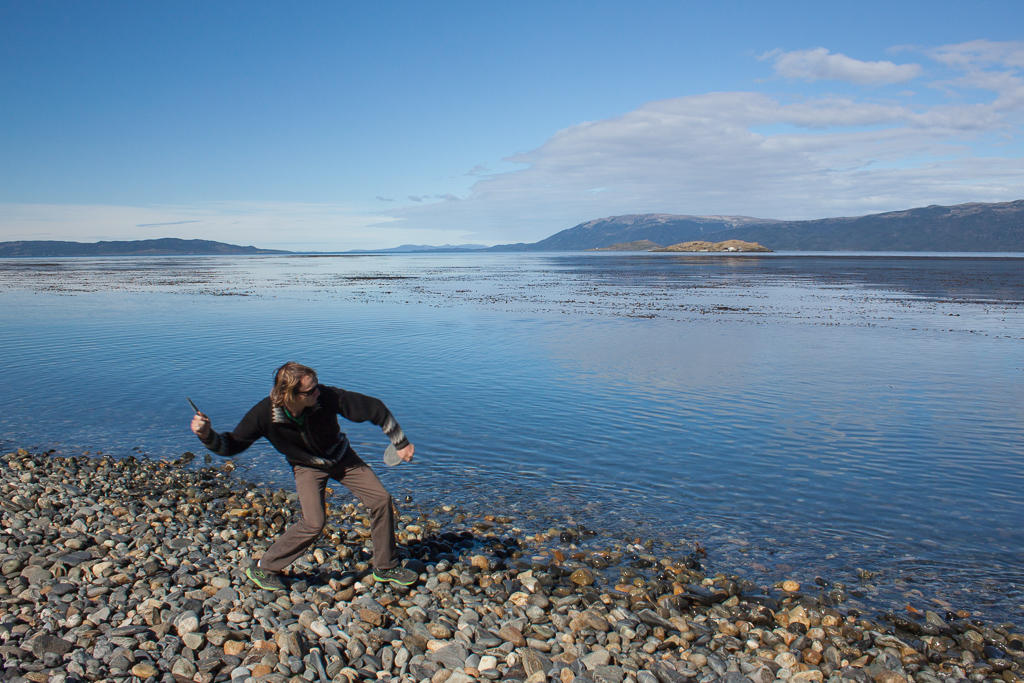 Where do you find the most amazing skipping rocks and the glassiest water? Only at the end of the road.