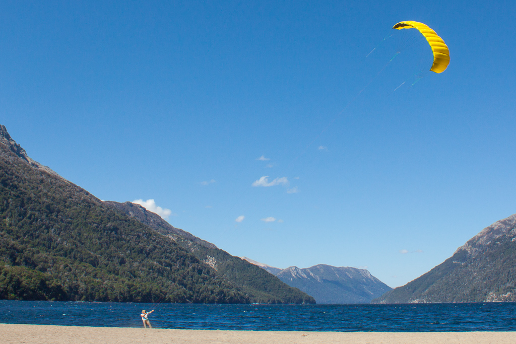 Perfect place to fly a kite.